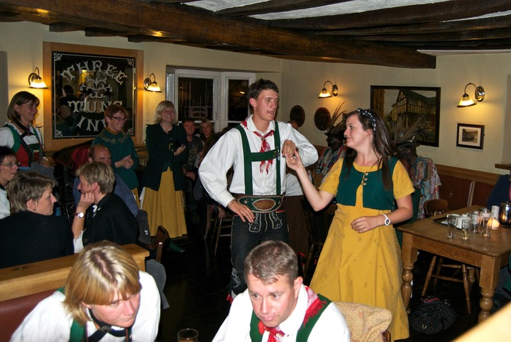 Dancing in The Three Tuns